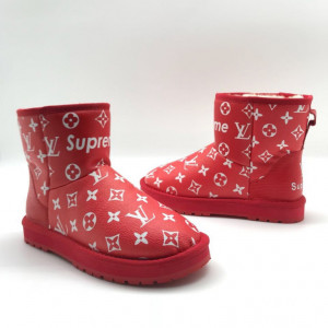 UGG Supreme Louis Vuitton красные