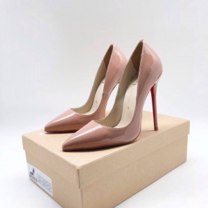 Туфли Christian Louboutin So Kate бежевые